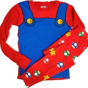 Super Mario Kids Pajama Sleeping Character Set